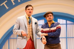 Tyler Lansing Weaks and Alan Schmuckler in The Comedy of Errors. Photo by T. Charles Erickson.