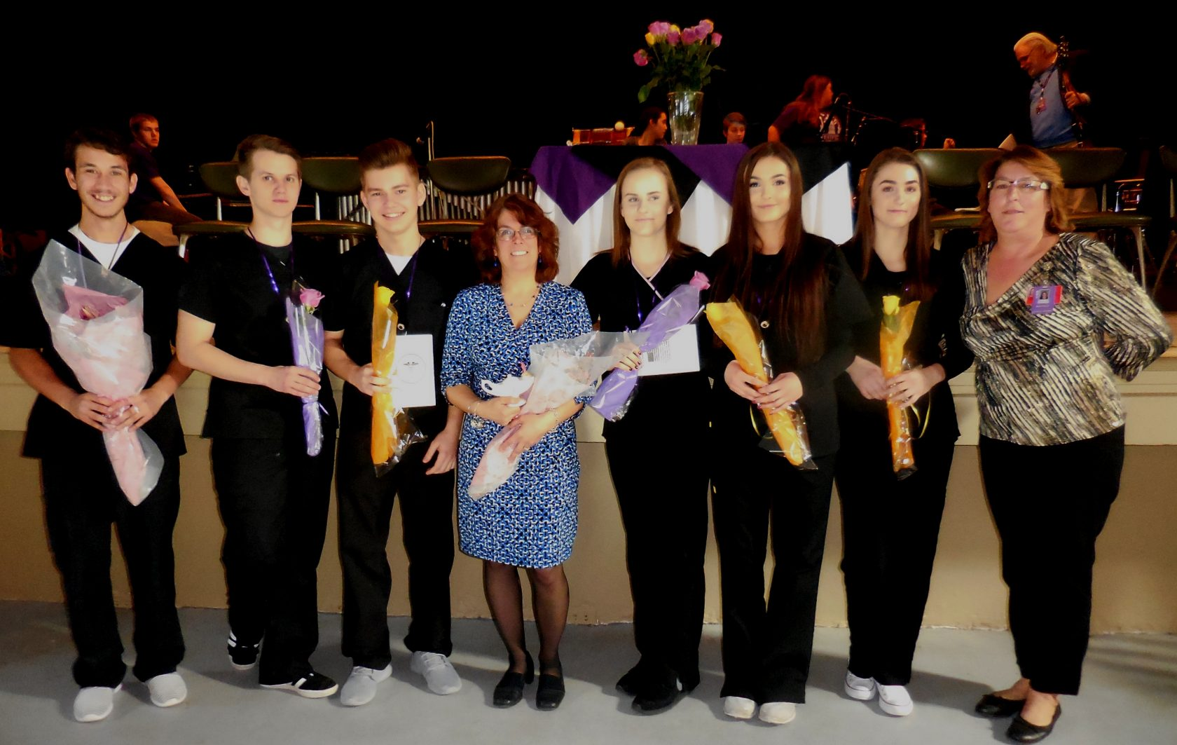 Six Westfield Tech students pinned as CNAs