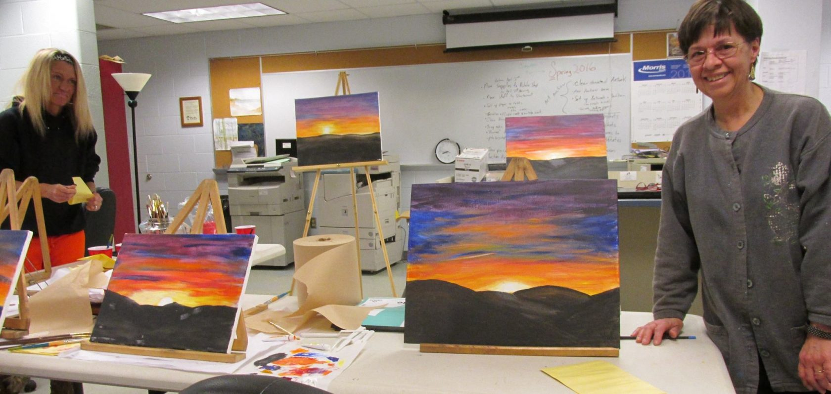 Painting and music events benefit adult education in the Hilltowns