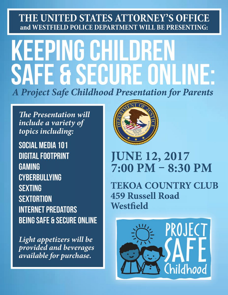 Keeping Kids Safe Online topic of meeting