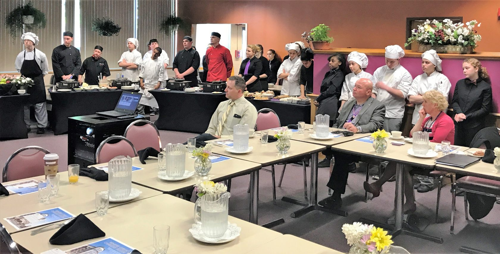 MGM speaks to culinary arts students about career opportunities