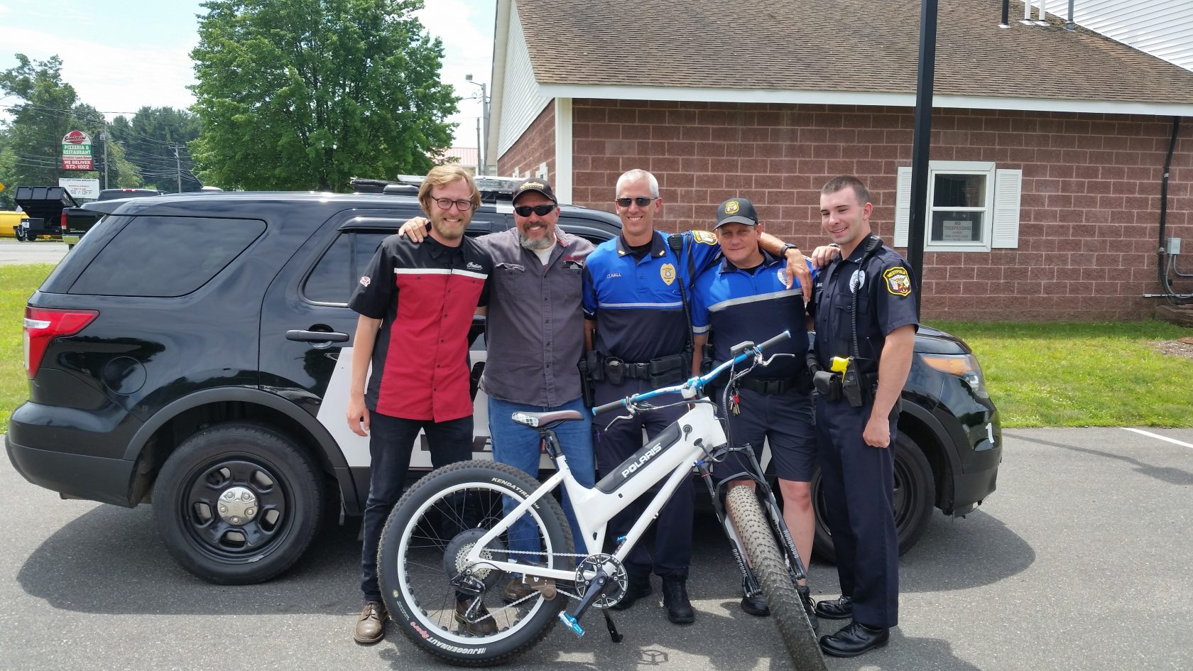 Westfield Police gets vehicle donated