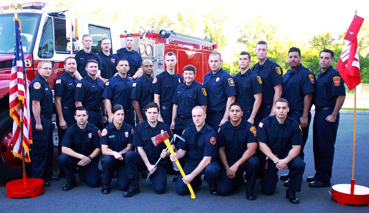 Westfield firefighter graduates firefighting program