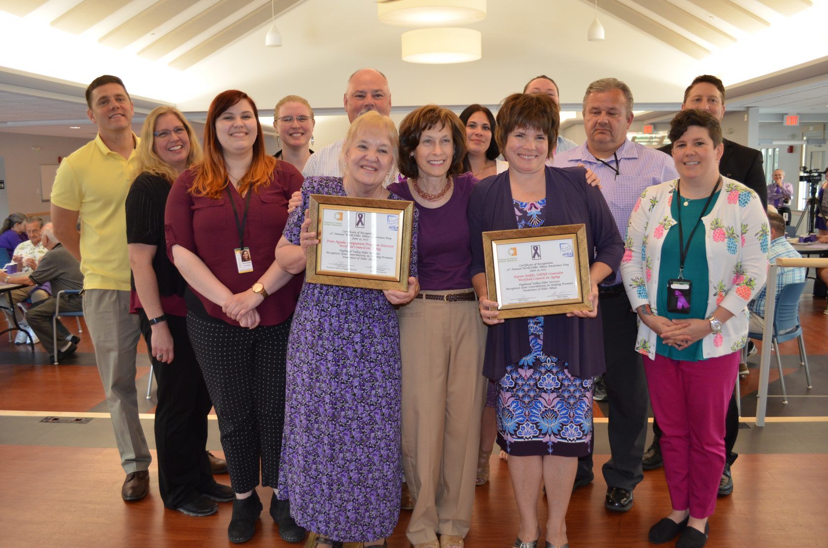 Women feted for work keeping seniors safe