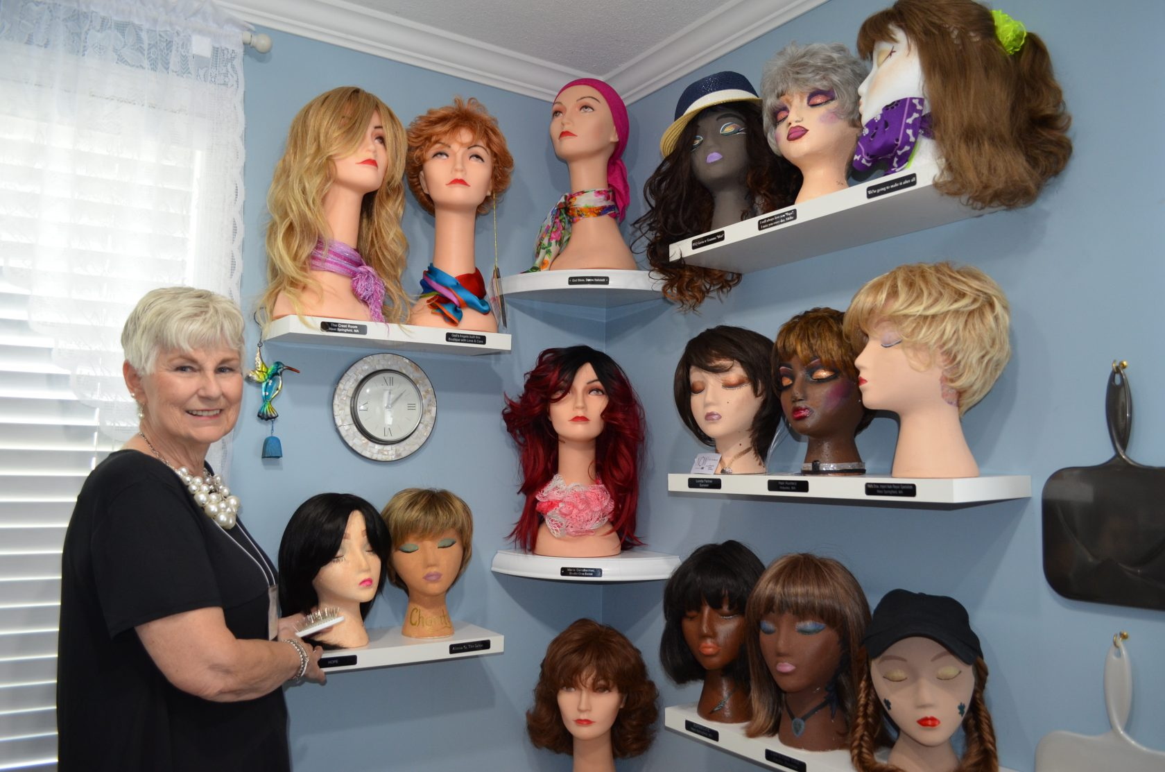 Helping women 'feel beautiful' – one wig at a time