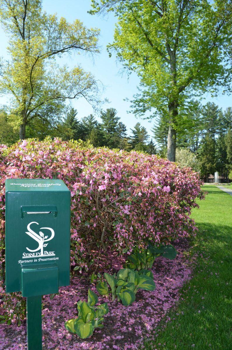 Park Now Has Donation Boxes