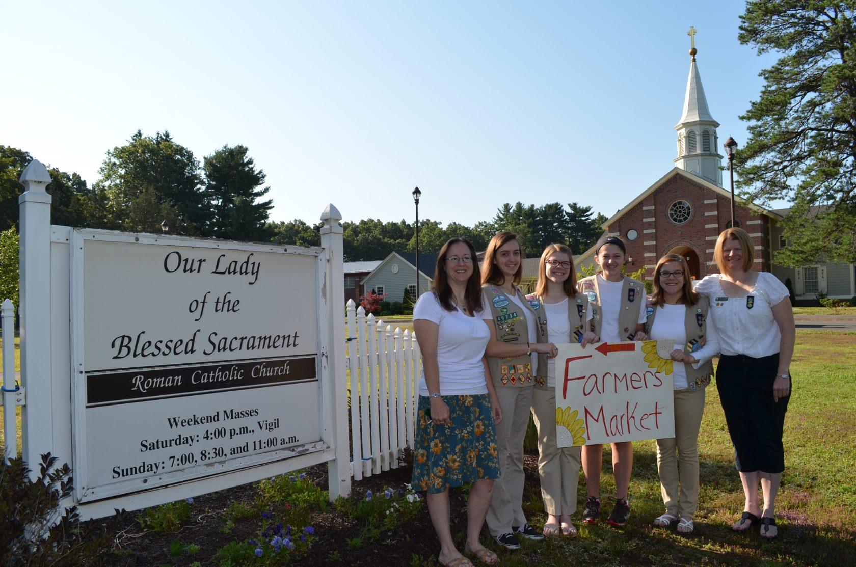 Girl Scouts seeking vendors for farmers' market