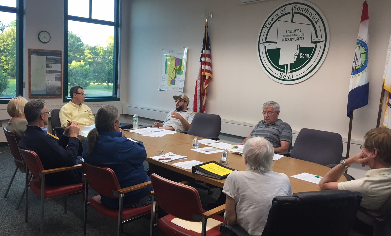 Marijuana subcommittee discusses drafted town bylaw