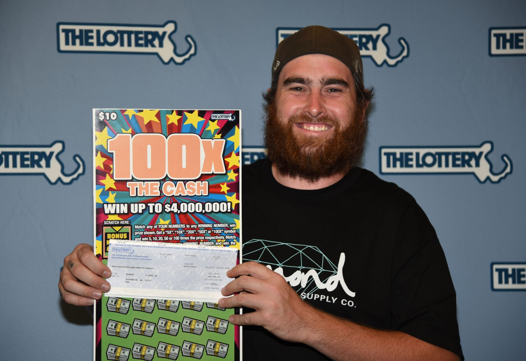 Southwick resident hits big in the lottery