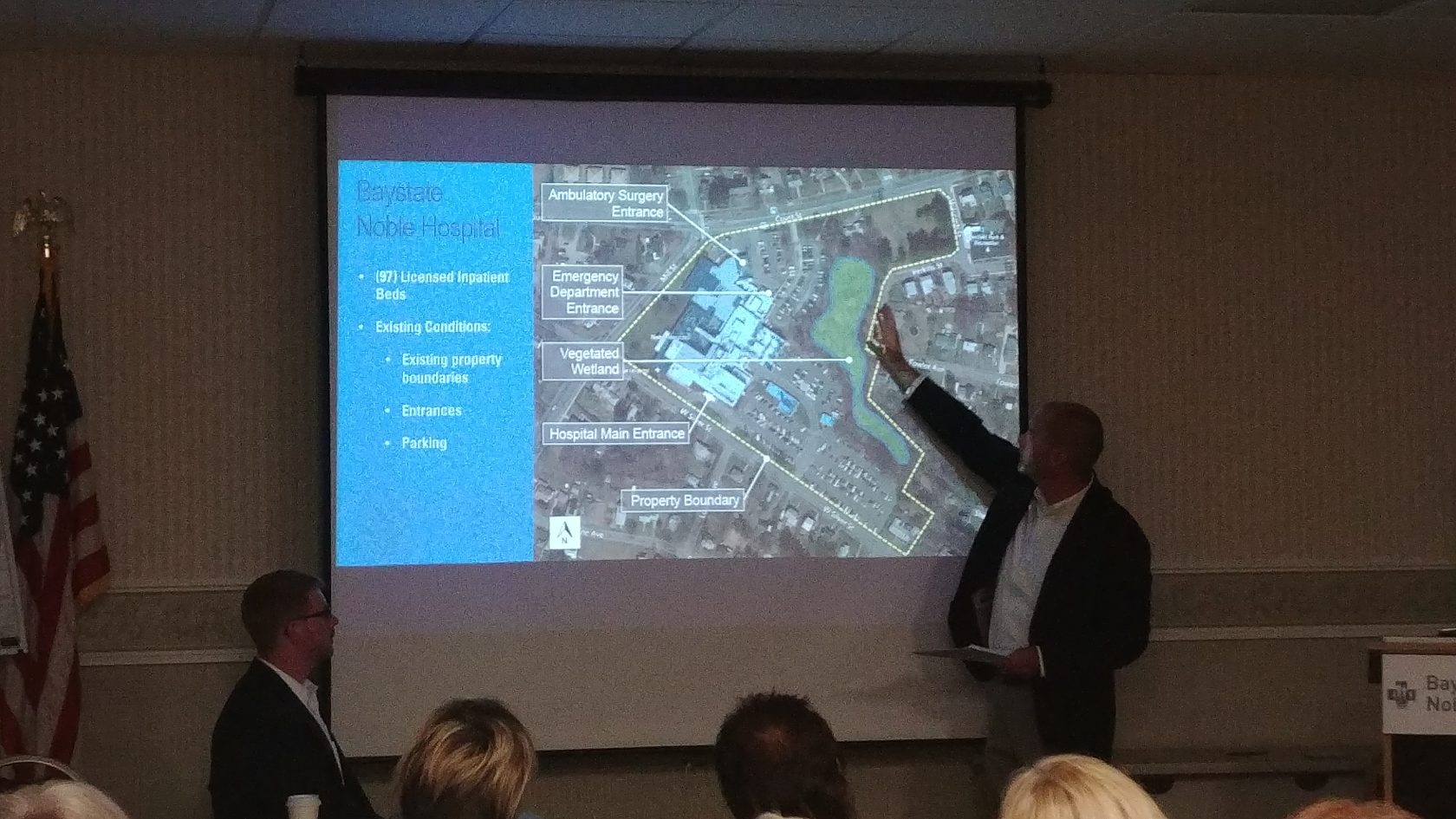 Residents, city officials and developers discuss proposed medical district