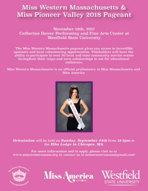 Miss Western Mass holding orientation for interested contestants