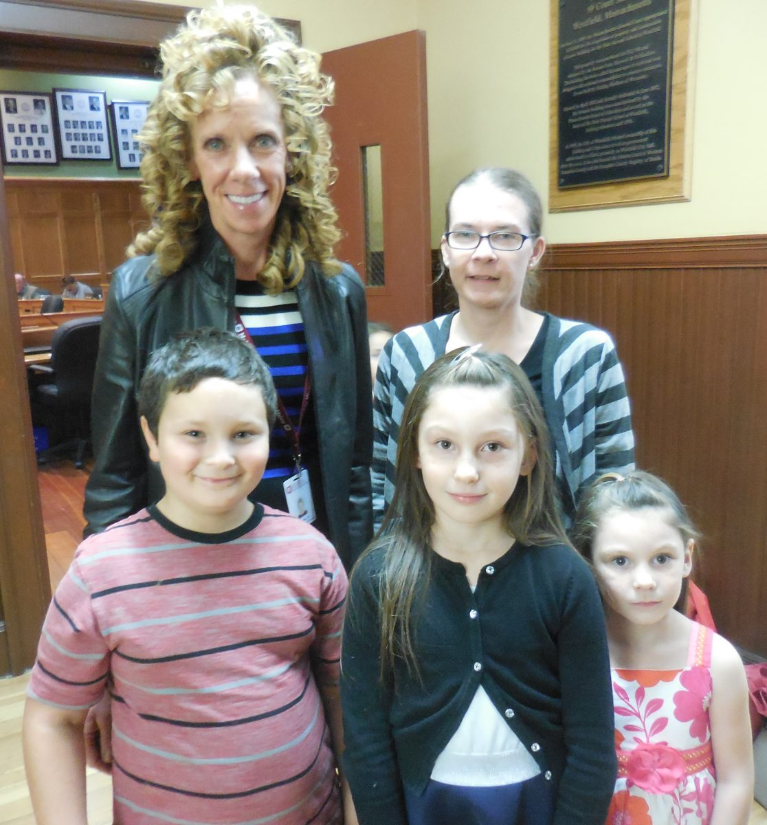Franklin Avenue's Grief Group tells its story to School Committee