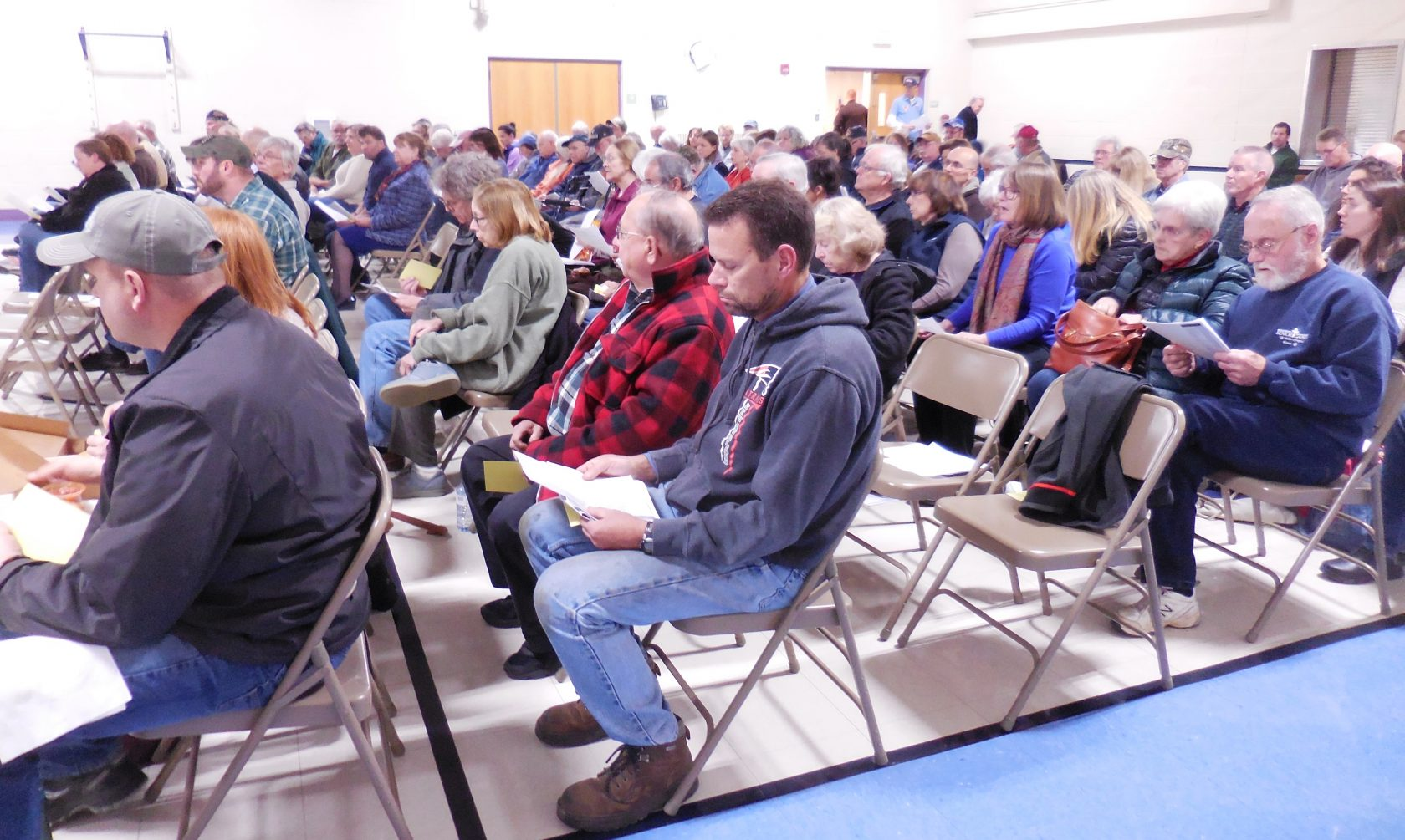 Special Town Meeting in Blandford avoids controversial vote on TA