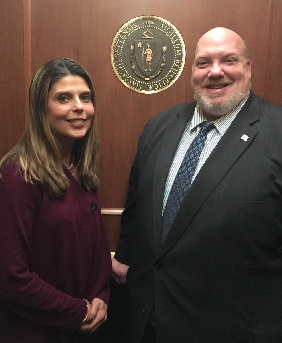 Senator Humason introduces new staff member
