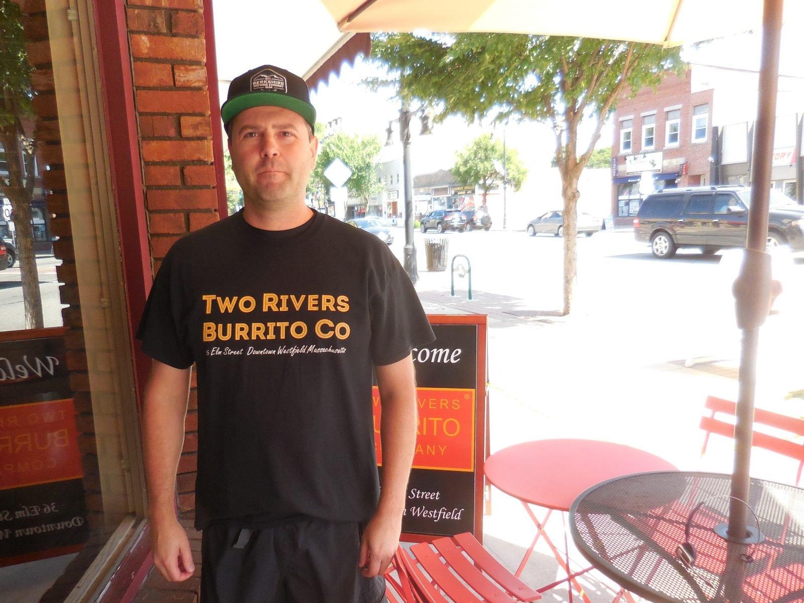 Joe Wynn of Two Rivers Burrito Company - The Westfield News
