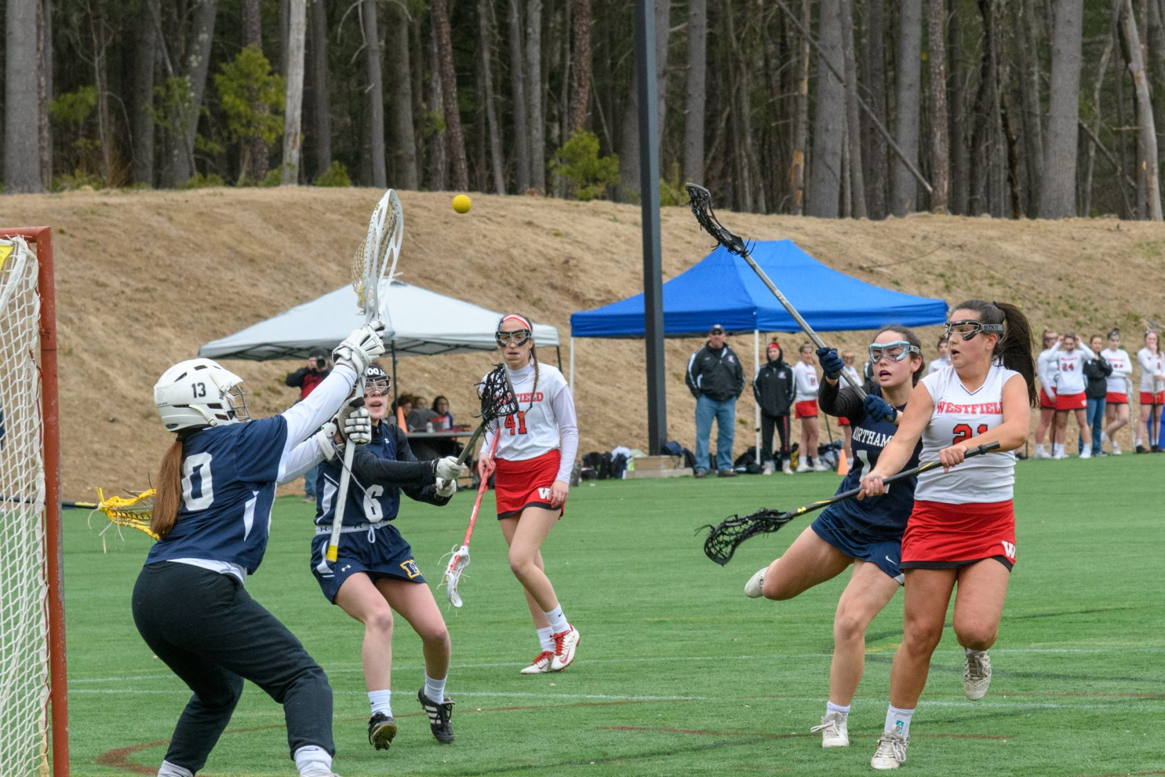 Westfield girls lacrosse Morgan Anjos vs  Northampton - The