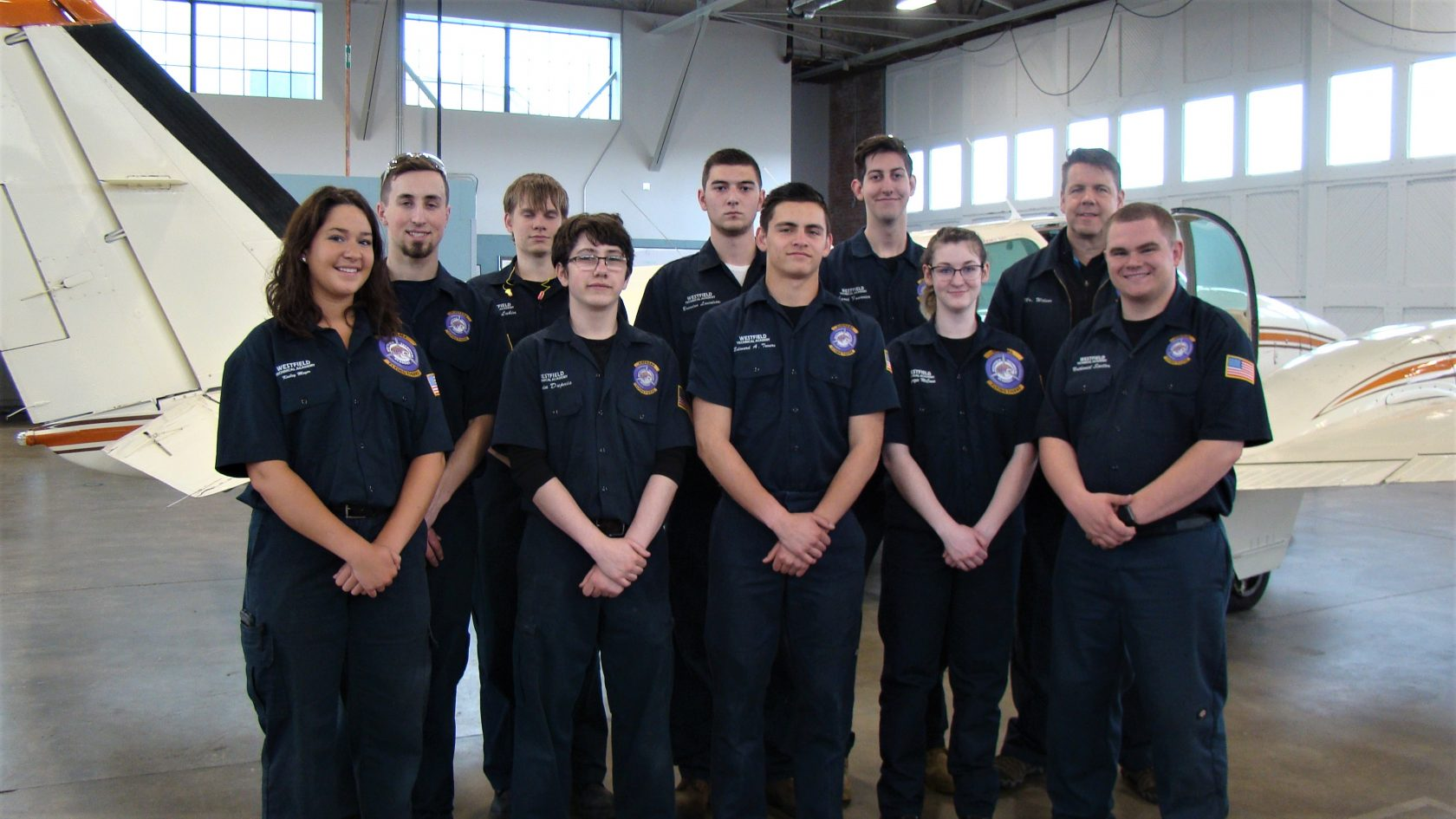 First Ever Students In An Faa Certified High School