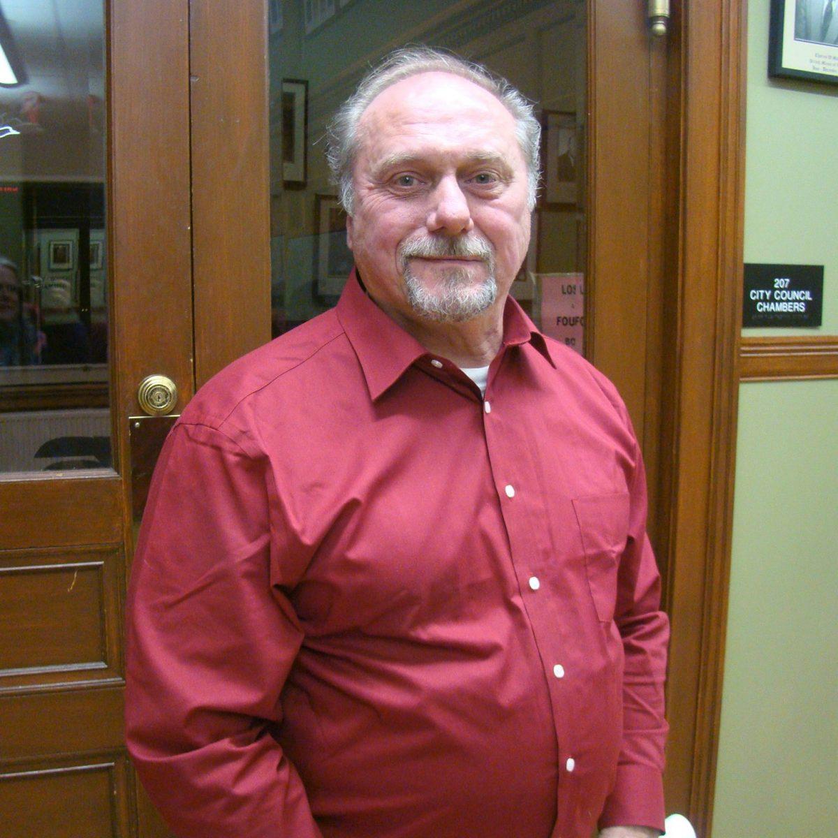 City Engineer Mark Cressotti