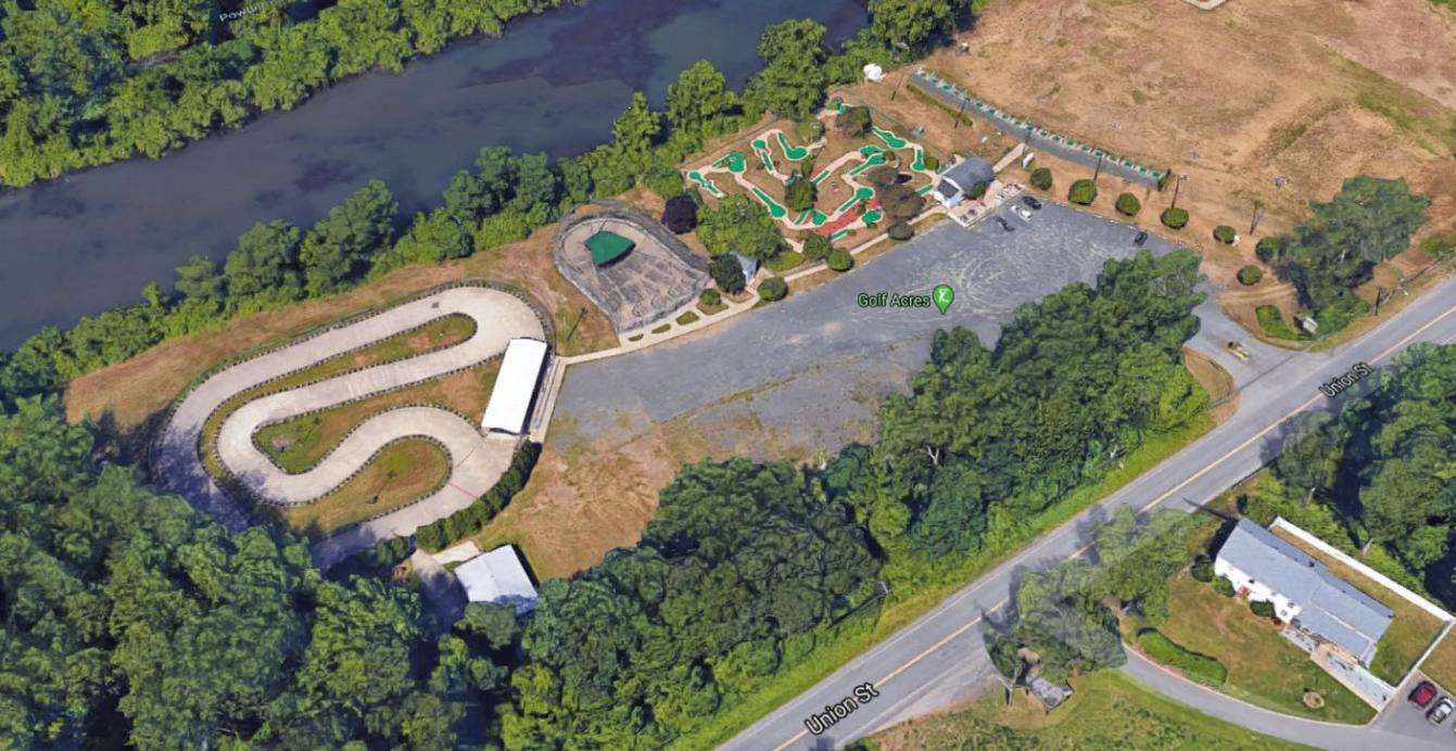 Golf Acres Aerial